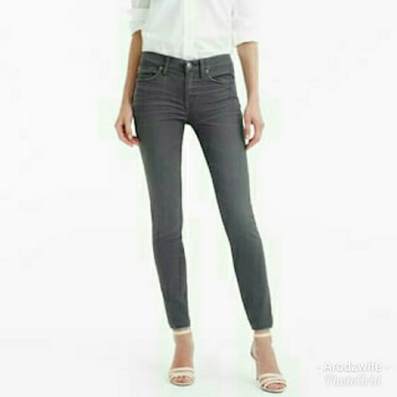J. Crew Denim - SALE! J. Crew Size 28 Toothpick Jeans in Grey e3a0aaadc